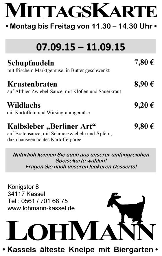 Wunderbar Getränke Köhler Kassel Fotos - Innenarchitektur Kollektion ...